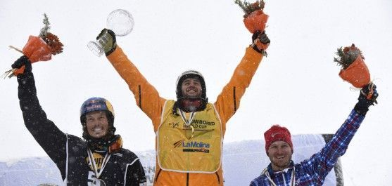 lucas eguibar snowboard corss SBX