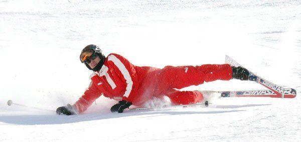lesión esquí