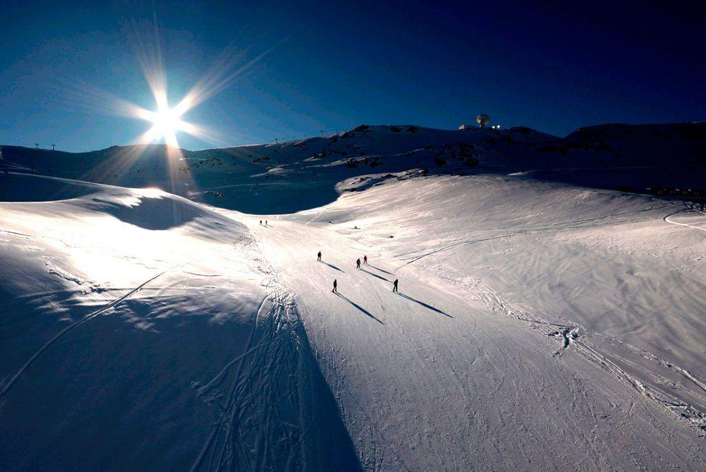 Pistas nieve Sierra Nevada