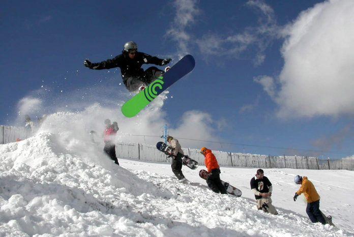 CABEZA DE MANZANEDA. Escuela de esqui y snow