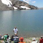 Laguna Sierra Nevada en verano