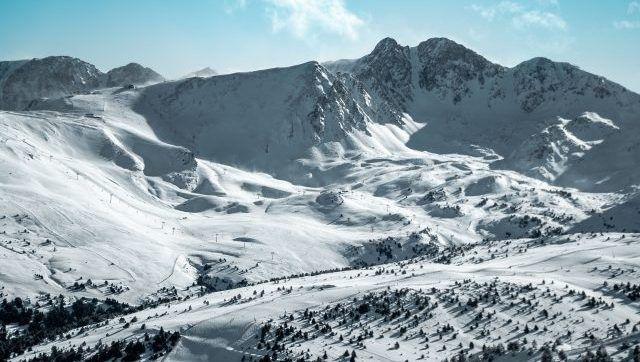 La estación Andorrana Grandvalira, actividades lúdicas y de nieve.
