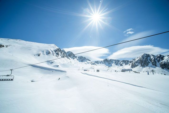 Grandvalira amplia el dominio esquiable para hoy viernes 19 de marzo.